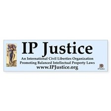 IP Justice Bumper Sticker (1)