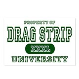 Drag Strip University Postcards (Package of 8)