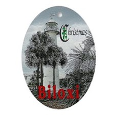 Biloxi Oval Ornament