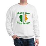 Kiss Me Im Irish Flag St Patricks Day Jumper
