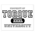 Torque University Small Poster