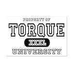 Torque University Mini Poster Print