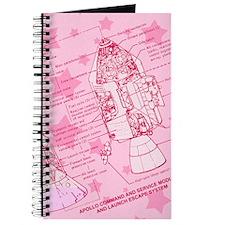 Pink Space Capsule Journal