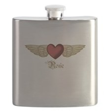 Roxie the Angel Flask