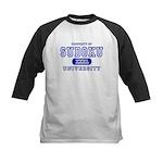 Sudoku University Kids Baseball Jersey