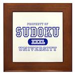 Sudoku University Framed Tile
