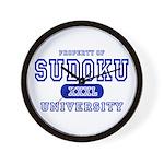 Sudoku University Wall Clock