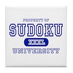 Sudoku University Tile Coaster