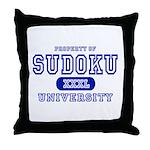 Sudoku University Throw Pillow