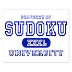 Sudoku University Small Poster