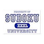 Sudoku University Mini Poster Print