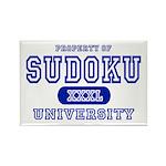 Sudoku University Rectangle Magnet