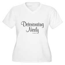 3-DeterioratingNicely_lds Plus Size T-Shirt