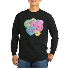 Fun Candy Hearts Personalized T