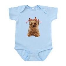aussie terrier Infant Bodysuit