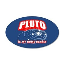Pluto Is My Home Planet Wall Decal