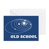 old-school-solar-system_13-5x18.png Greeting Cards