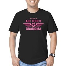 Proud Air Force Grandma W [pink] T