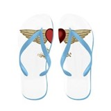 Stephanie the Angel Flip Flops