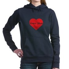 Proud Air Force Girlfriend W Women's Raglan Hoodie