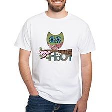 Scrapbooking is a Hoot T-shirt - Womens v neck T-S