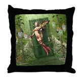 The Way To Fairyland Throw Pillow