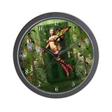 The Way To Fairyland Wall Clock