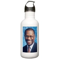 Herman Cain Water Bottle