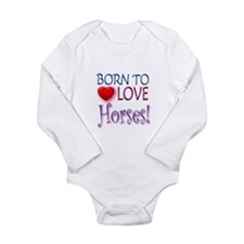 Born To Love Horses! Body Suit