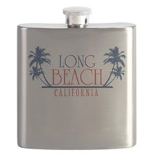 Long Beach Regal Print Flask