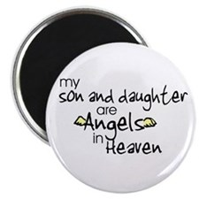 "Son/Daughter Angels 2.25"" Magnet (10 pack)"
