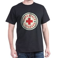 Long Beach Lifeguard Badge T-Shirt