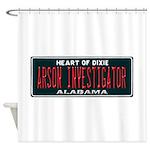 Alabama Arson Investigator Shower Curtain