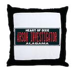 Alabama Arson Investigator Throw Pillow