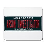 Alabama Arson Investigator Mousepad