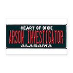 Alabama Arson Investigator Rectangle Car Magnet