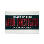 Alabama Arson Investigator Rectangle Magnet (100 p