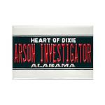 Alabama Arson Investigator Rectangle Magnet (10 pa
