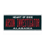 Alabama Arson Investigator Wall Decal