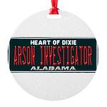 Alabama Arson Investigator Ornament