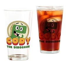 Cody the Dinosaur Drinking Glass