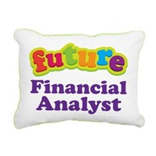 Future Financial Analyst Rectangular Canvas Pillow