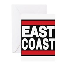 east coast red Greeting Cards (Pk of 20)