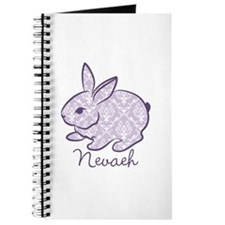 Purple chic bunny Journal