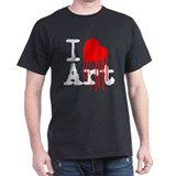 I Love Art T-Shirt