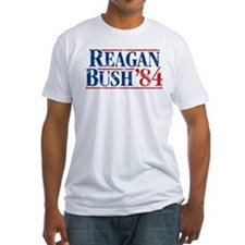 Distressed Reagan - Bush '84 T-Shirt