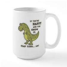 T-Rex Clap II Mug