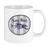 Long Beach Bonefish Badge Mug
