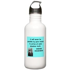 werner heisenberg Water Bottle