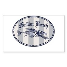 Malibu Bonefish Badge Decal